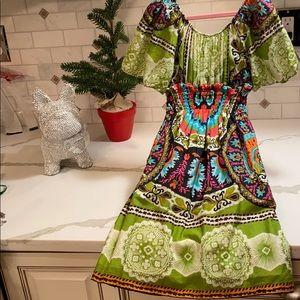 Dresses - GIRLS TRIBAL PRINT DRESS OR TOP